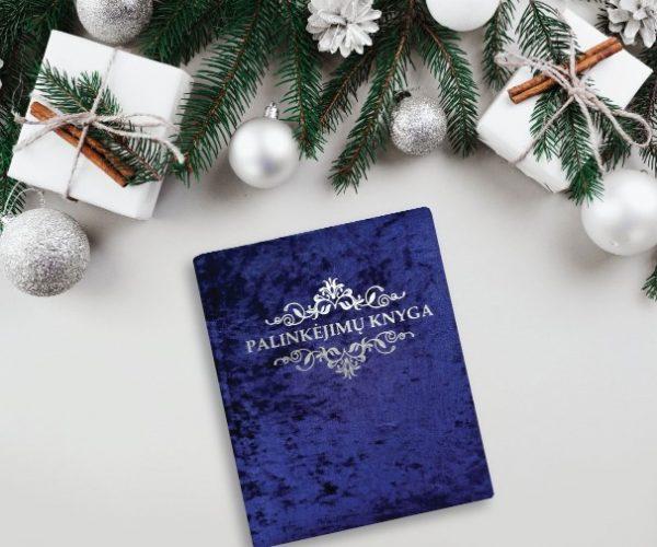 Royal blue palinkėjimų knyga