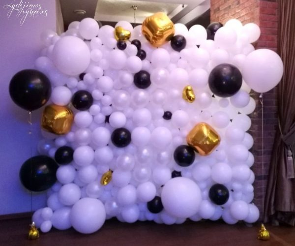 balionų sienelė 3ddd